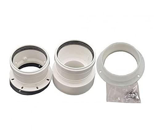 Kit de desagüe para caldera de conductos separados 80-80 Beretta sin humos, plástico PPS