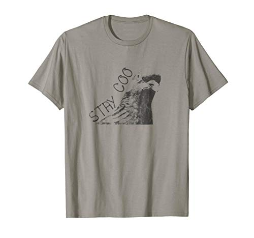 Stay Coo Cool Pigeon Dark T-Shirt