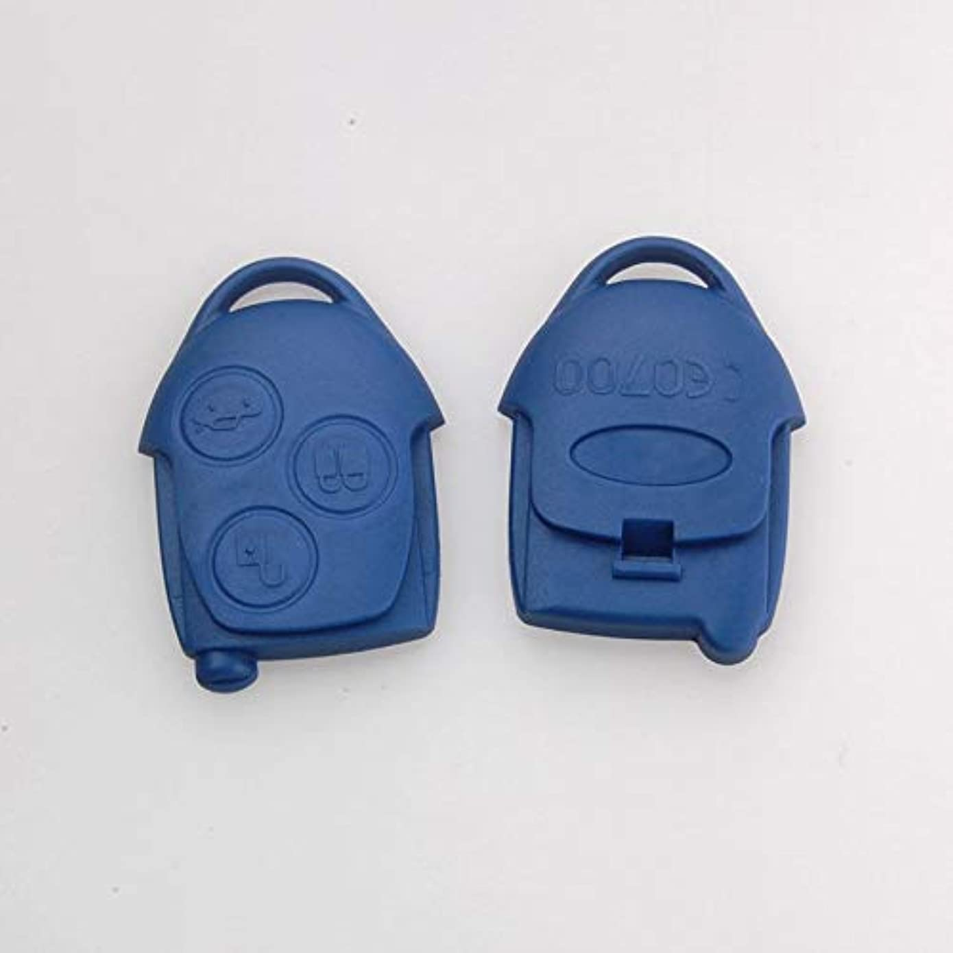 悲劇アンビエント故障Jicorzo - Replacement Transit Connect 3 Buttons Blue Blank Remote Key Case Shell Fit For Ford TRANSIT