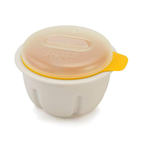 Joseph Joseph M-Poach Microwave Egg Poacher, One-size, White/Yellow