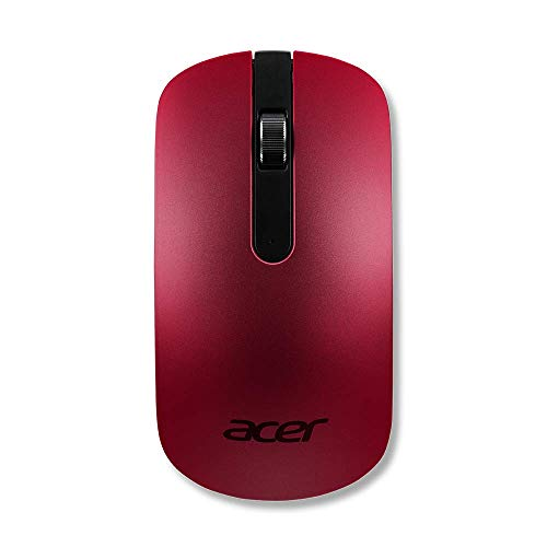 AcerWireless Maus Thin Light kabellos optisch 1200 dpi elegantes Slim Design rot