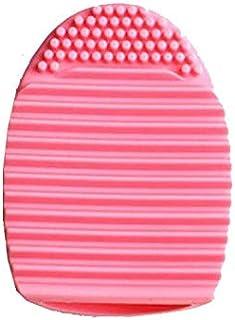 Portable Safe Pink Wash Egg Makeup Brush Cleaning Tool