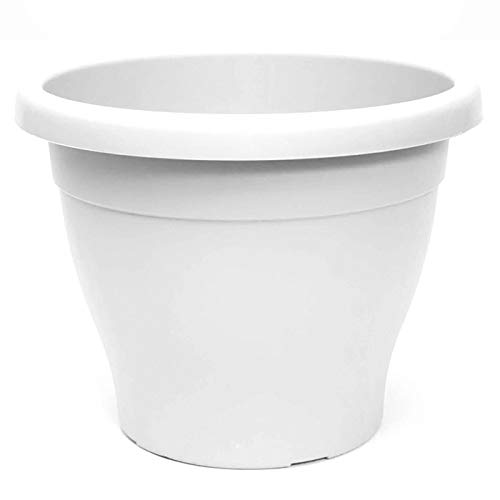 Pamex-Maceta Mediterránea 50 cm Blanco 46 litros