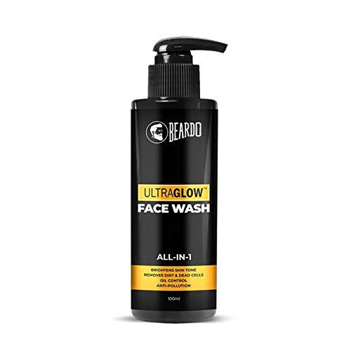Beardo Ultraglow Facewash For Men, 100 ml | Made in India