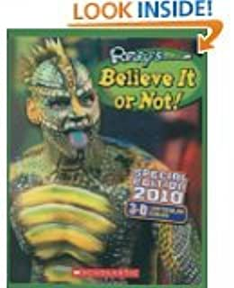 Ripleys Believe it or Not (Special Edition 2010 3D Lenticular Cover)