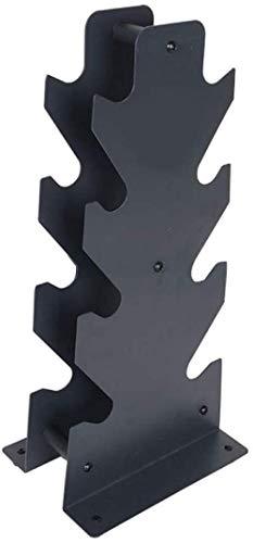 Soporte para mancuernas, triángulo y hoja grande de 4 niveles, soporte para mancuernas, soporte para mancuernas