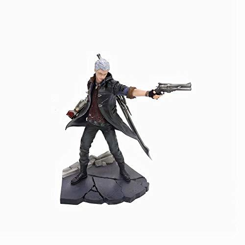 QHYZRV Teufel kann weinen Dante Nero Hochwertige Dekoration Modell Spielzeugpuppe Geschenk Statue Skulptur Figur Höhe 28 cm