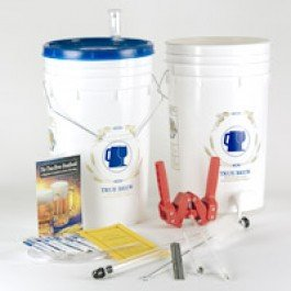 Strange Brew Home-Brew Best Homebrew Beer Making Starter Kit with Stainless Kettle, Zymurgy Book and Ingredients from