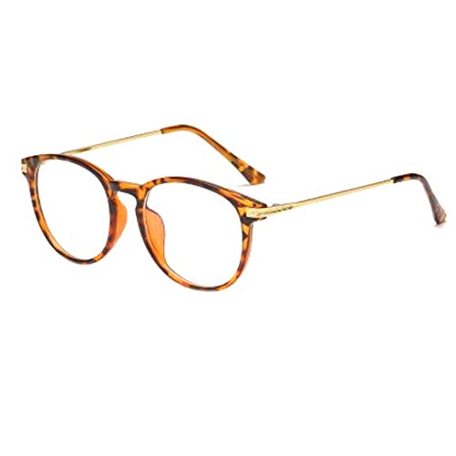 Inlefen Unisexo Blue Light gafas de bloqueo [Anti fatiga ocular]Borde completo Cuadro Transparente Lente