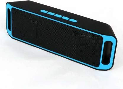 SBA MEGA - SP - A018 Wireless | Bluetooth Speaker | with TF/USB/AUX Audio Port Compatible with All Smartphones