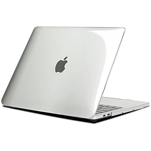 """TECOOL Coque MacBook Pro 15 Pouces 2016/2017 / 2018/2019, Mince Plastique Étui Coque Rigide Housse pour Apple MacBook Pro 15,4"""" avec Touch Bar (Modèle: A1707 / A1990) - Crystal Clair"""