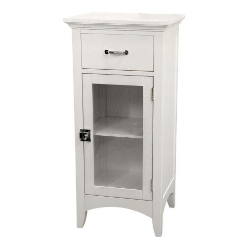 Elegant Home Fashions Madison Floor Cabinet, One Size, White