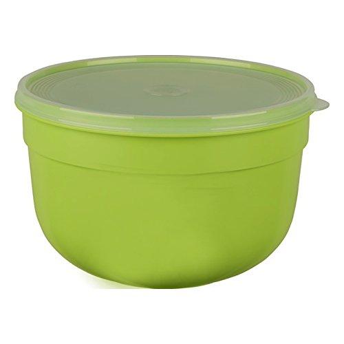 Emsa Frischhalteschale mit extra softem Deckel, Rund/hoch, 1,25 L, Grün, Superline Colour, 517147