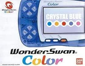 WonderSwan Color - Crystal Blue (Japanese Import Video Game Handheld)