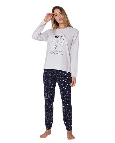 ADMAS Pijama Manga Larga from The Stars para Mujer