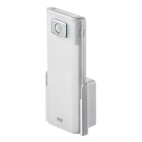 サンワダイレクト LEDライト 人感センサー コンセント 懐中電灯 停電時自動点灯ライト 非常灯 室内 800-LED018