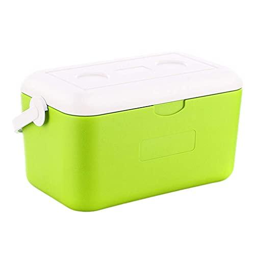 NC Kleiner tragbarer Kühlschrank, Outdoor-Auto-Isolierbox, leicht zu tragen mit Anti-Deformations-Design für langfristige Isolierung 24 Stunden 10L LKWK