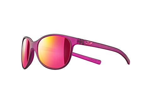 Julbo Lizzy - Gafas de sol para niña, color morado translu mate, FR: XS (talla del fabricante: 6-10 años)