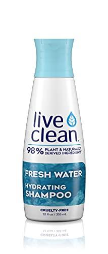 Live Clean Fresh Water Hydrating Shampoo, 12 oz.