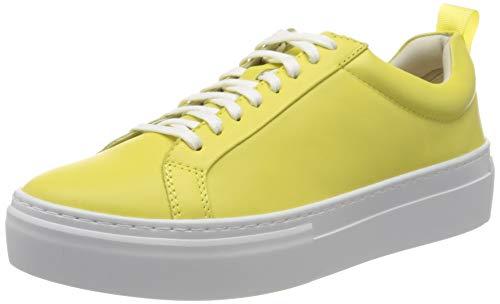 Vagabond Damen Zoe Platform Sneaker, Gelb (Citrus 25), 37 EU