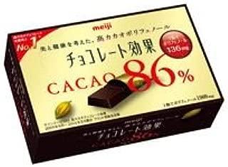 明治 チョコレート効果カカオ86%BOX 10箱(5箱入×2)