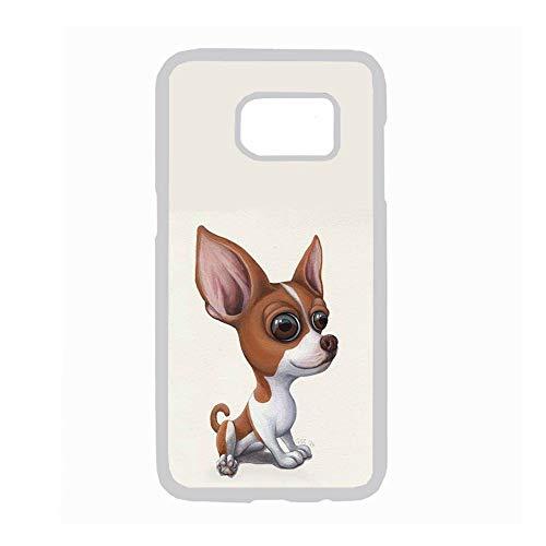 Tener Chihuahua 6 A Prueba De Golpes para Niño Compatible Samsung Galaxy S 7 Teléfono Carcasa Rígida Rígida De Plástico Choose Design 86-1