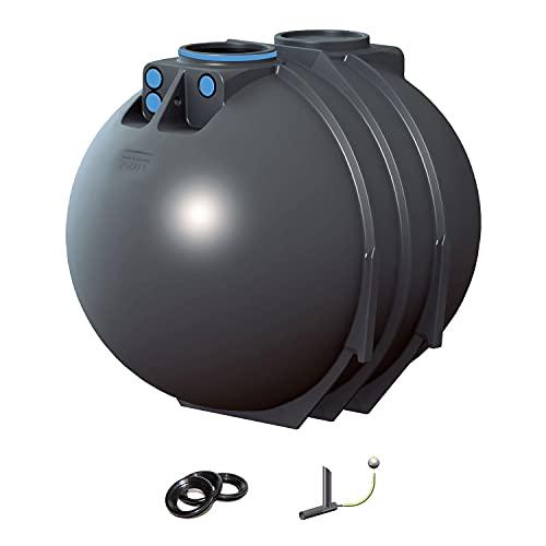PREMIER TECH AQUA GmbH Regenwassertank Retention Blueline II 7600 Liter inkl. Drossel - Retentionszisterne, Zisterne für Retention