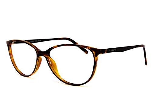 NOWAVE Occhiali neutri per PC, Tablet, TV e Gaming. Eliminano stanchezza e mal di testa. Montatura leggera alla moda. Occhiali riposanti ANTI LUCE BLU 40% e UV 100% | Nuova Collezione | Marylin