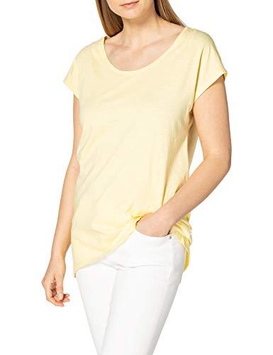 edc by Esprit 031cc1k340 Camiseta, 745/amarillo Claro, S para Mujer