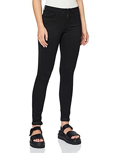 ONLY Women's ROYAL SOFT REG SKIN JEGGING BLACK NOOS Plain Skinny Trousers, Black (Black C-n10), L/30 (Manufacturer Size: L/30)