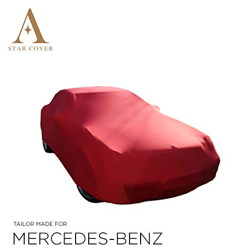 Star Cover AUTOABDECKUNG ROT Mercedes-Benz SL-Class (R230) SCHUTZHÜLLE ABDECKPLANE