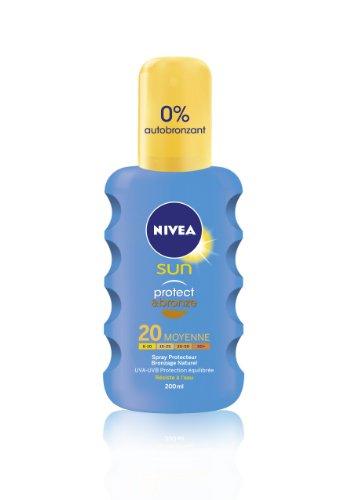Nivea Sun Spray Protecteur Protect et Bronze FPS20 200 ml
