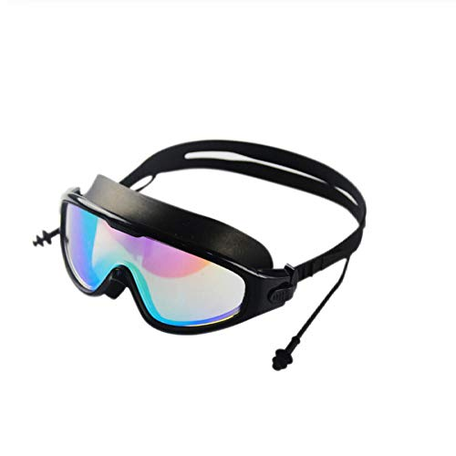 gukj Swimming Goggles Professional Fashion Best Swimming Goggles Adult Waterproof Soft Silicone Glasses Swimming Goggles Men and Women Anti-Fog Swimming Goggles