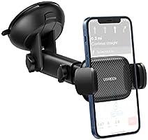 UGREEN Auto Telefoonhouder Zuignap Windscherm Voorruit Dashboard Car Holder Compatibel met iPhone 12 Pro Max SE 11 XS XR...