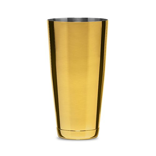 Cocktail Kingdom Koriko Large Weighted Shaking Tin - Gold-Plated / 28oz (830ml)
