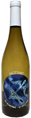 Signo Astrológico Sagitario con Vin Chardonnay del País de Oc