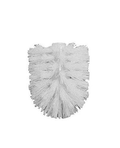 kela WC-Bürstenkopf Bent aus Kunststoff in weiß, Plastik, 8.5 x 8.5 x 10 cm