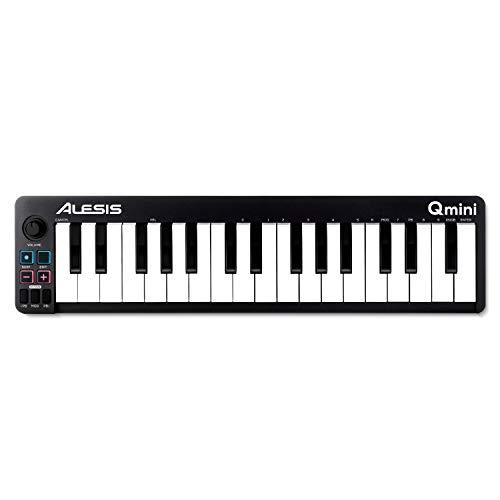 Alesis Qmini - Portable 32 Key USB MIDI Keyboard Controller with velocity...