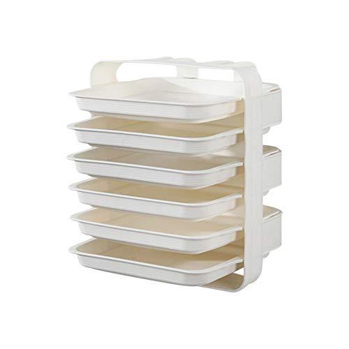 Cajas de almacenamiento apilables para armario organizador, cajón, perchero, organizador, de plástico, estantes extraíbles para ropa, dormitorio, cocina