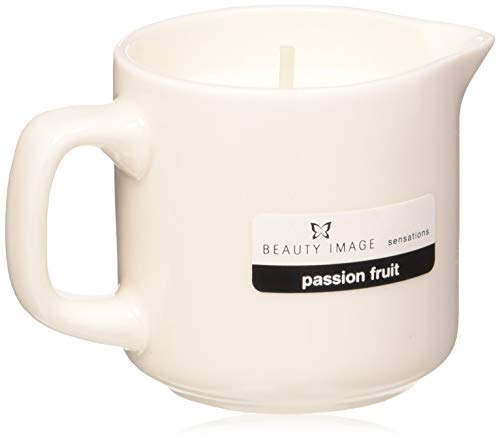 Beauty Image Passion Fruit Hot Oil Body Massage Candle