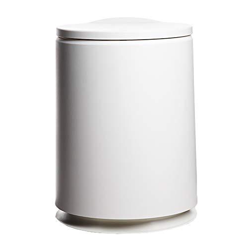 Poubelle domestique Joint avec couvercle Base antidérapante Bouton poussoir Matériel ABS et pp Capacité 10L 23,5 * 23,5 * 32CM Seau poubelle