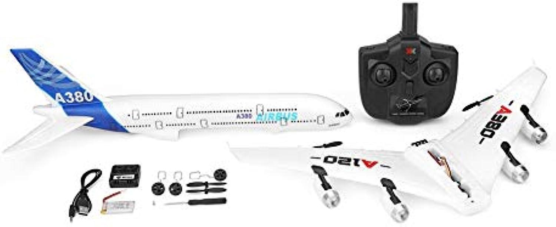 wholesape barato Prinsong A120-A380 Airbus Airbus Airbus 2.4 GHz 3CH RC Avión de ala Fija Aviones de Control Remoto Aeromodelismo Aviones de Seis Ejes Juguetes de Vuelo  marca