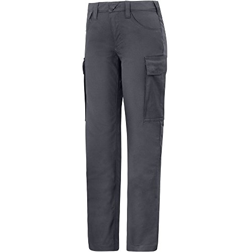 Snickers Workwear 6700 Short Damen Servicehose stahlgrau Gr. 92