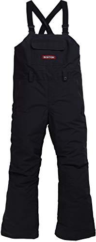 Burton Kids' Skylar Bib Snow Pant, True Black W20, Large