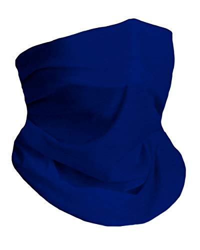 Blue Royal Breathable Neck Gaiter Half Face Cover Cool Skiing Mask Bandana Festival Rave Balaclava Scarf INTO THE AM