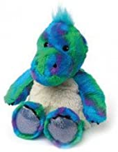 Holland Plastics Original Brand Cozy Plush Microwavable Warmies - Sparkly Dinosaur, Approx 10