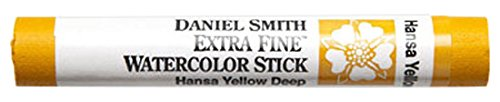 Daniel Smith 284670047 Extra Fine Watercolor Stick 12ml Paint Tube, Hansa Yellow Deep