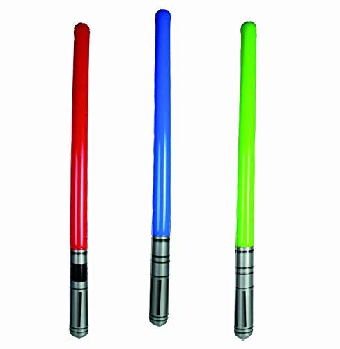 Hinchable LightSabre Adhesivas Espada láser Accesorio Estrella Disfraz Wars