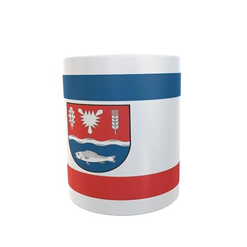 U24 Tasse Kaffeebecher Mug Cup Flagge Landkreis Plön