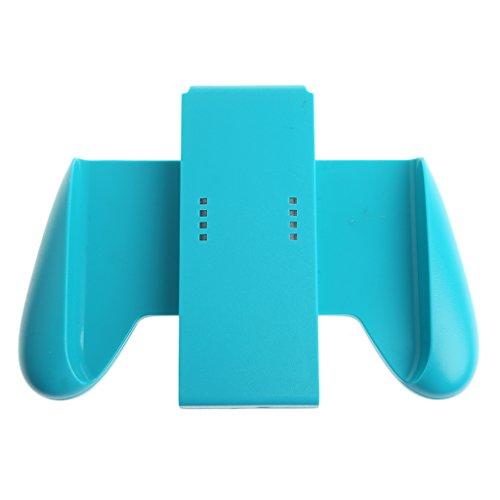 SSYY Poignée de manette de jeu L+R compatible avec Nintendo Switch Joycon NS, ABS, bleu, As pic